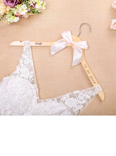 Bridesmaid Gifts - Personalized Elegant Wooden Hanger (256184515)