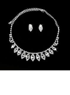 Elegante Liga/Cristal Senhoras Conjuntos de jóias (011027199)