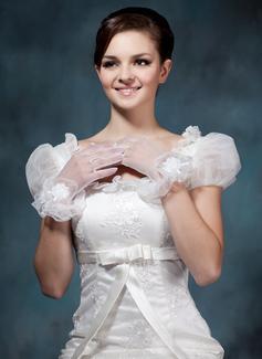 Tule Wrist Lengte Party/Mode Handschoenen/Bruids Handschoenen (014020481)
