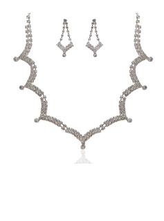 Красивая сплав с горный хрусталь женские Комплекты ювелирных изделий (011027598)