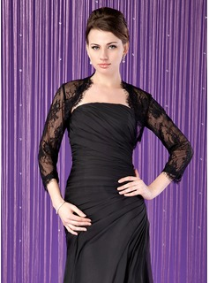 3/4-Length Sleeve Lace Special Occasion Wrap (013024284)