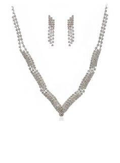 великолепный сплав/Стразы женские Комплекты ювелирных изделий (011027604)