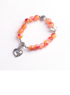 Bridesmaid Gifts - Personalized Imitation Pearls Bracelet (256184501)