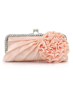 Gorgeous Satin Clutches (012016238)