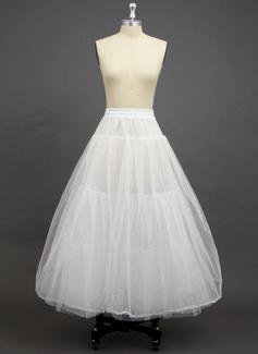 Women Tulle Netting/Polyester Floor-length 3 Tiers Petticoats (037033971)