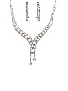 Элегантные сплав/Стразы женские Комплекты ювелирных изделий (011027605)