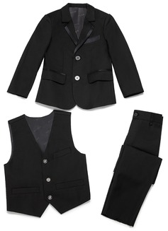 gutter 3 stykker Elegant Suits til ringbærere /Side Boy Suits med Jakke vest Bukser (287199773)