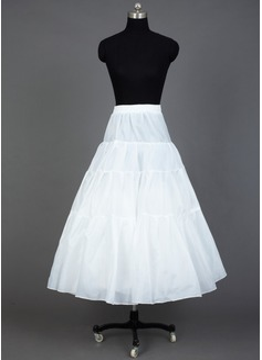 Women Taffeta/Organza Floor-length 3 Tiers Petticoats (037031015)