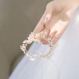Невеста Подарки - сказочной шелковые Xрусталь Наручный корсаж (256206243)