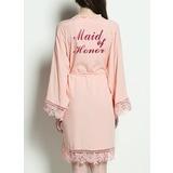 Cotton Bridesmaid Glitter Print Robes (248176078)