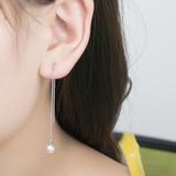 Alla moda Di faux perla rame con Perla imitazione Donna Orecchini di modo (Venduto in un unico pezzo) (137199499)