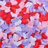 Hart Gevormd Satijn/Spons Confetti (set van 100) (131057869)