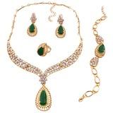 Único Liga/Resina/Zircon Senhoras Conjuntos de jóias (011198057)
