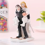 Classic Couple/Love Is Sweet Resin Cake Topper (Sold in a single piece) (119187412)