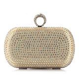 Mode Satin mit Strass Handtaschen (012028016)