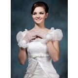Тюль Наручные длина Партии/мода перчатки/Свадебные перчатки (014020481)