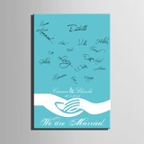 Personalized Signature Guestbook With Frame (101201179)