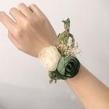 Цветение шелковые цветы Цветочные Наборы - Букетик на запястье/Бутоньерка (123205641)