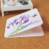 Stile Floreale/Stile Farfalla Side Fold Biglietti d'auguri (Set di 10) (114031182)
