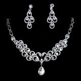 Elegante Liga/Strass Mulheres Conjuntos de jóias (011017103)
