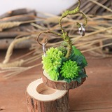 Dreamy Wood Ring Box With Artifical Plants (103203901)