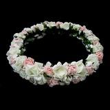 прекрасный чистая пряжа Девушки цветка Головной убор (042025211)