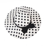 Ladies' Hottest/Vintage Fabric With Bowknot Bowler/Cloche Hats/Kentucky Derby Hats (196203282)