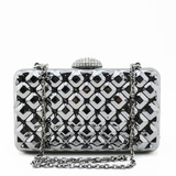 Charming Plating Mirror Clutches (012186847)