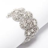 Charme Legering met Bergkristal Dames Armbanden (011033392)