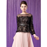 Long Sleeve Lace Special Occasion Wrap (013024278)