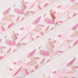 Сладкая любовь/творческих треугольный картона бумаги Фавор коробки и контейнеры с Ленты (набор из 24) (050203434)