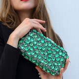 Delicate Crystal/ Rhinestone Clutches (012199332)
