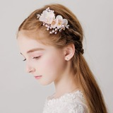 With Rhinestones/Flower Hairpins (Sold in a single piece) (198189078)
