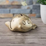 Gold Devil Fish Piggy Bank Birthday Gift Wedding Gift (Sold in a single) (051178627)
