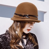 Ladies' Fashion/Pretty/Charming Wool Floppy Hat (196183000)