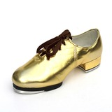 Unisex Leatherette Flats Tap Dance Shoes (053087766)