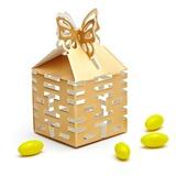 Duas vezes Felicidade cut-out Cubi Caixas do Favor (conjunto de 12) (050010120)