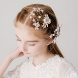 With Flower/Pearl Hairpins (Set of 2) (198189060)