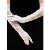 Tüll Opera Länge Braut Handschuhe (014200796)