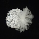 Prachtige Strass/Tule Fascinators (042026112)