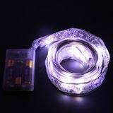 Simples Clássico Tecido Luzes LED (131189964)