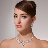 великолепный сплав с горный хрусталь женские Комплекты ювелирных изделий (011013123)