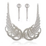 Fashional Alloy/Crystal Ladies' Jewelry Sets (011027552)