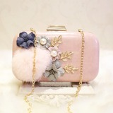 Lovely PU/Alloy Clutches (012115766)