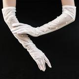 Tyl Opera Længde Brude Handsker (014200796)