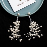 Unique Alloy/Imitation Pearls Ladies' Earrings (011177811)