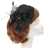 Elegant Kunstzijde/Feather Fascinators met Kristal (042057226)