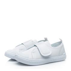 Uniseks Closed Toe Zeildoek Canvas Flat Heel Flats Sneakers & Sportschoenen met Velcro (207150947)
