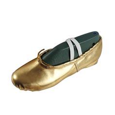 Kvinner Lær Flate sko Ballett Mage Dansesko (053076380)