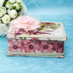 Красивая кружева/картон Женщины Коробка ювелирных изделий (051038138)